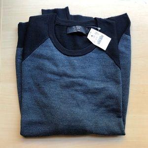 J. Crew Men's Medium Baseball Sweater Two-tone